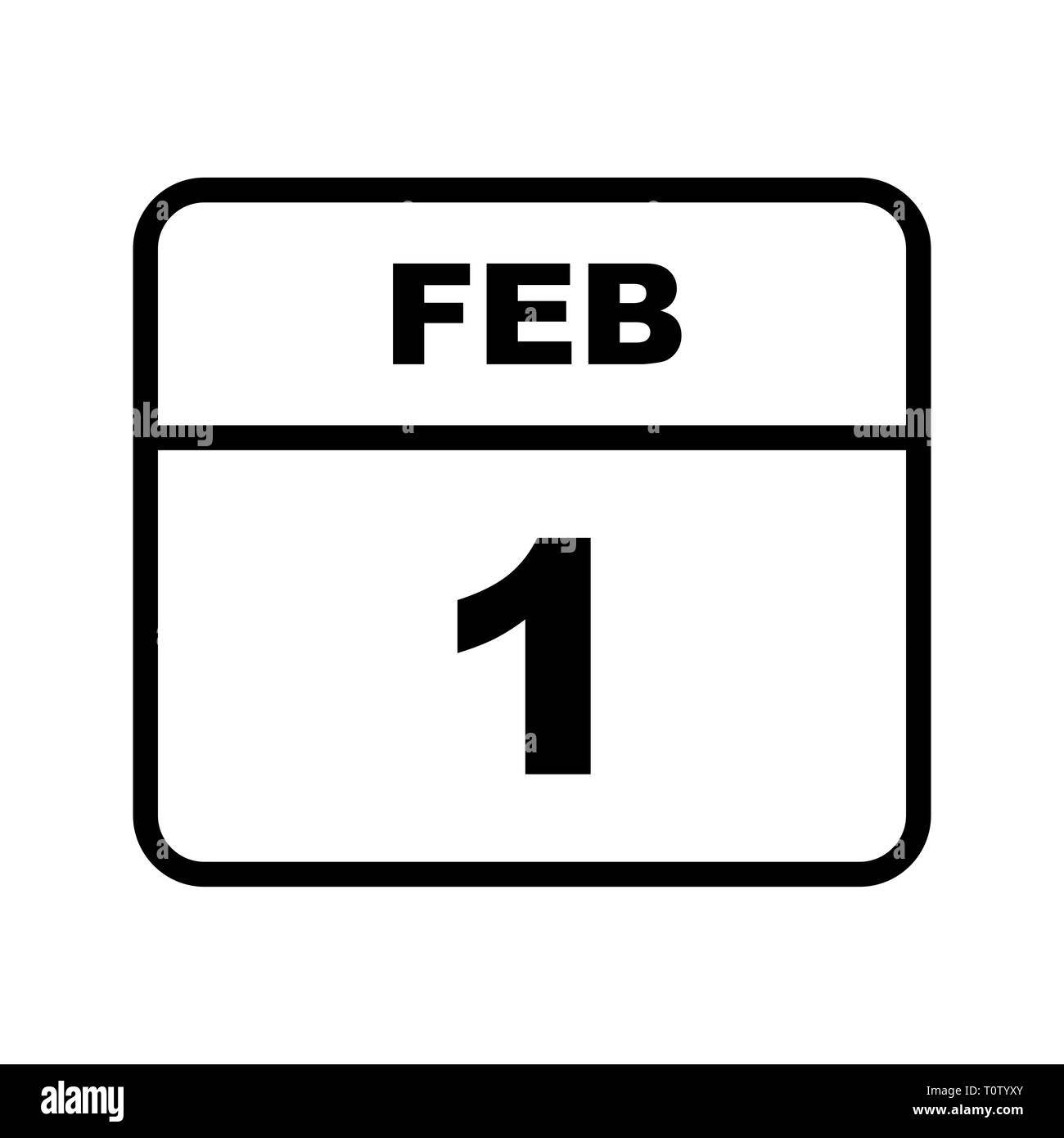 february 1st date on