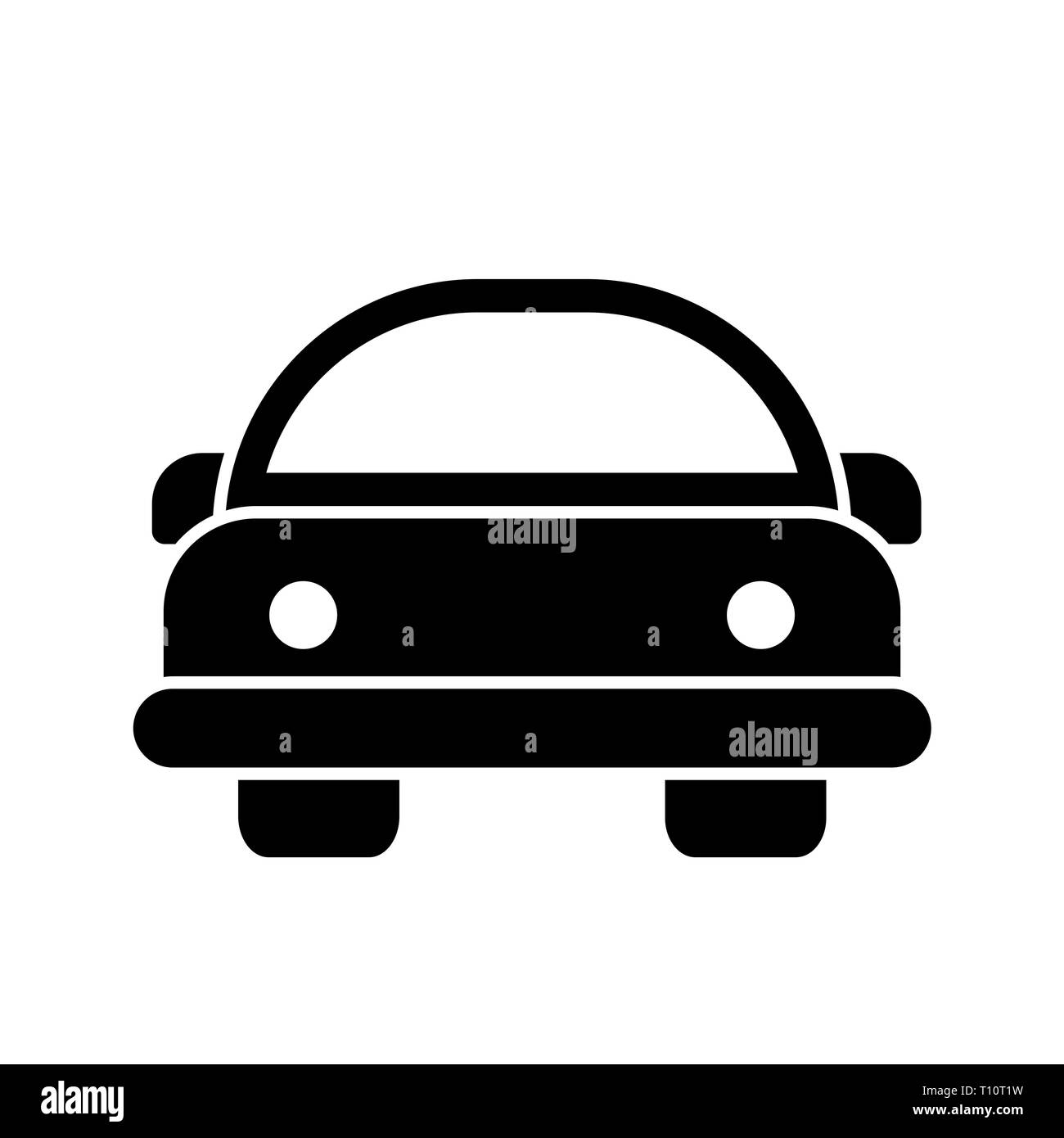 Cartoon Car Black And White Stock Photos Images Alamy