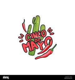 green saguaro cactus and red hot chili pepper cartoon isolated clipart cacti and chilli drawing mexican festive greeting card poster flat design element [ 1300 x 1390 Pixel ]