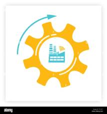 Industry 4 0 Stock Vector - Alamy