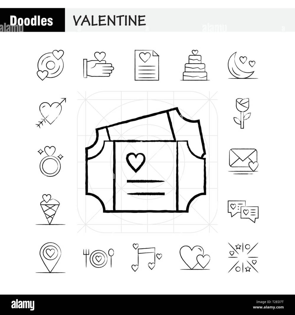 medium resolution of valentine hand drawn icons set for infographics mobile ux ui kit and print design include cd disk love valentine romantic hand love valentin