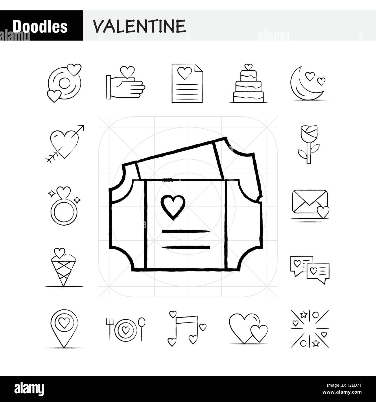 hight resolution of valentine hand drawn icons set for infographics mobile ux ui kit and print design include cd disk love valentine romantic hand love valentin