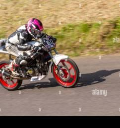 chorley lancashire uk april 2019 hoghton tower 43rd motorcycle sprint  [ 1300 x 956 Pixel ]