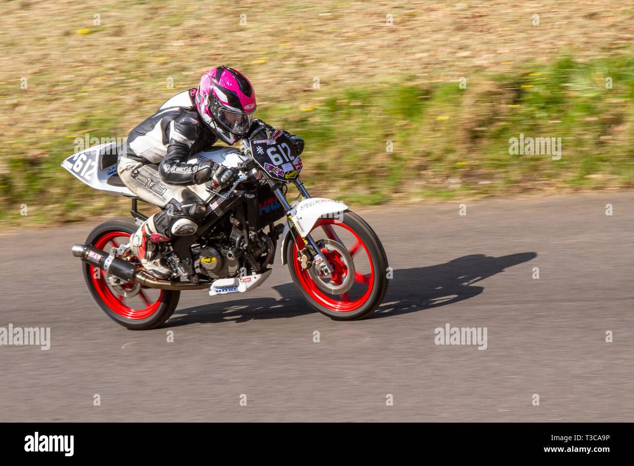 hight resolution of chorley lancashire uk april 2019 hoghton tower 43rd motorcycle sprint