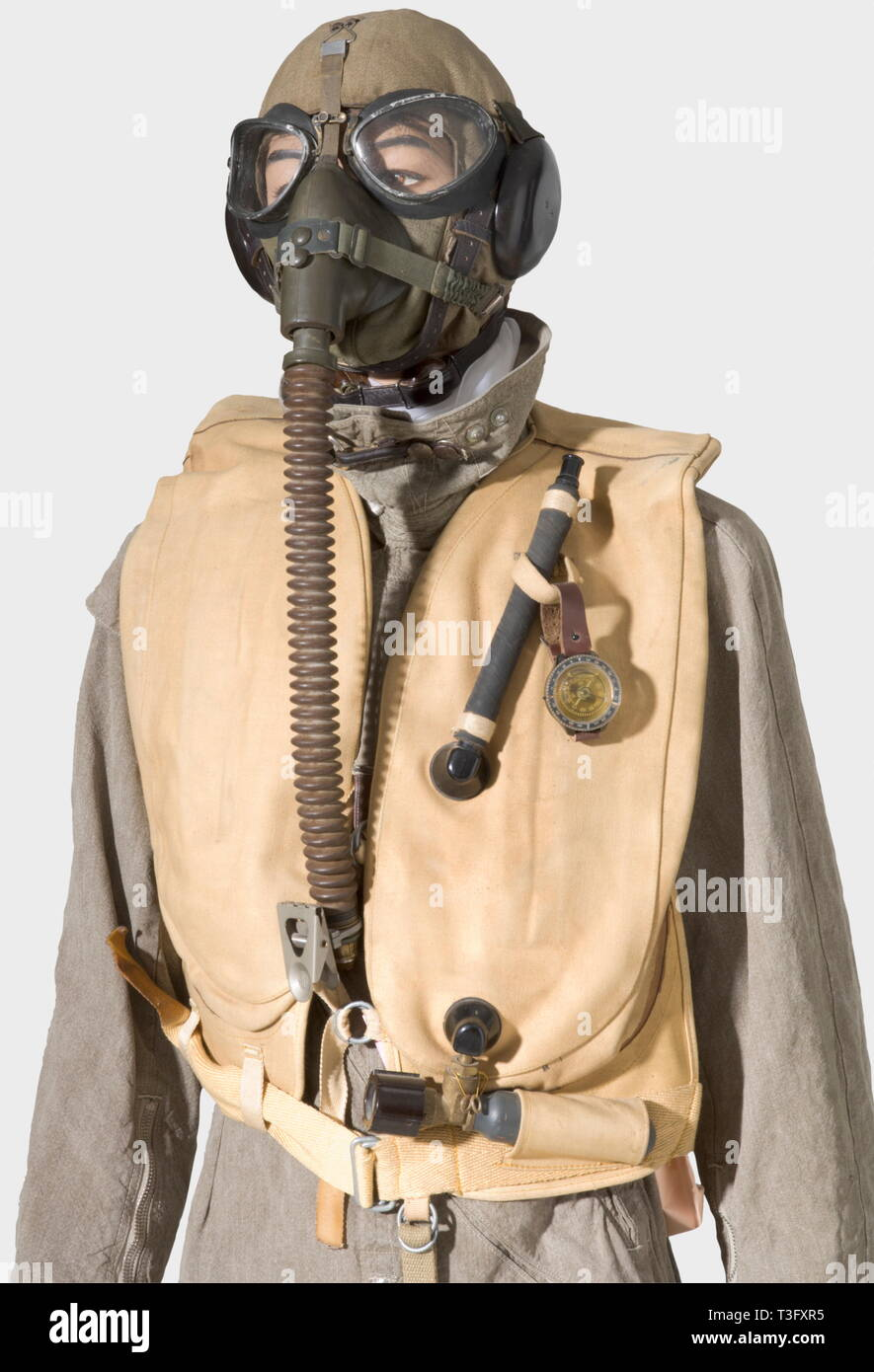 hight resolution of a pilot s uniform ensemble during the aerial bombing of england 1940 44 a