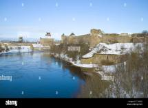 Narva River Stock & - Alamy
