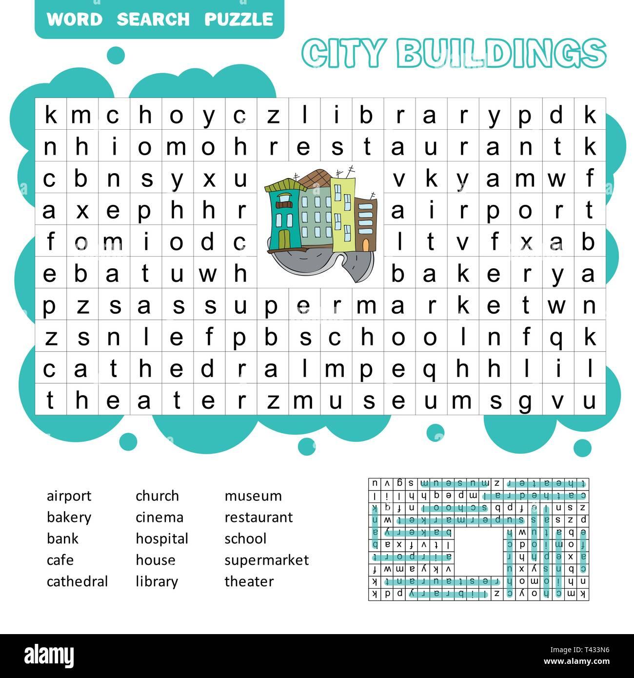 Crossword Children Stock Photos Amp Crossword Children Stock