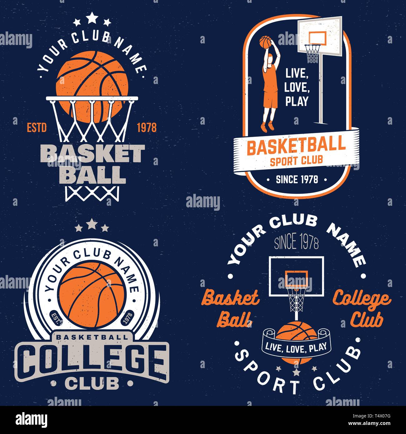 set of basketball club