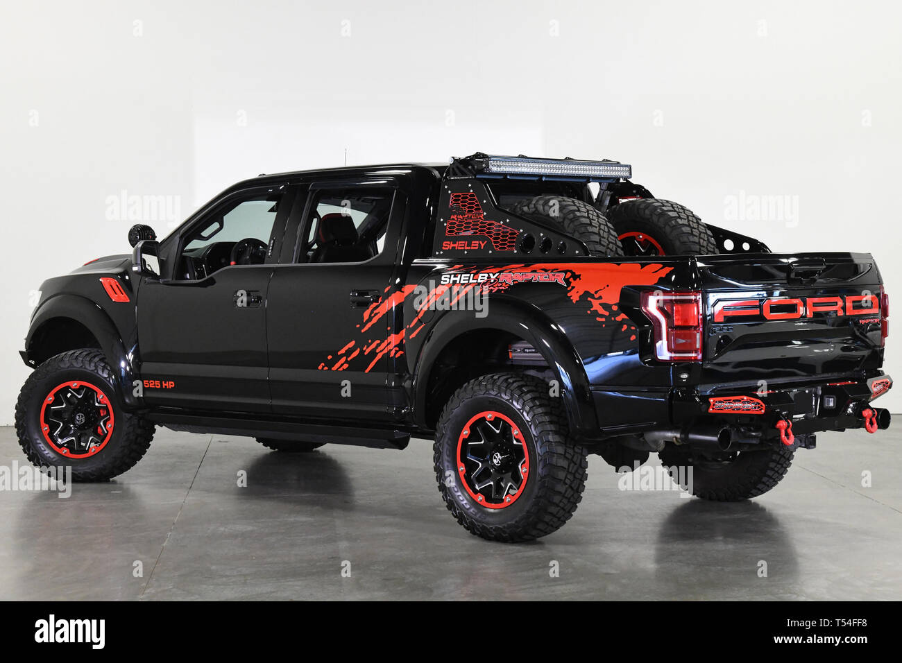 https www alamy com april 20 2019 2018 ford f 150 shelby raptor baja 525hp turbo fox 3 2018 shelby baha raptor we have 7 pages of added shelby and upgrade options call for a copy sonny 972 523 9797 shelby baja raptor 117460 additional installed upgrades 15357 full ford and shelby warranty one owner certified baja option group 525 hp 610 fpt performance upgrade option list to ecoboost turbo shelby tuned performance exhaust dual intake baja hood fox 3 raptor stage 2 shock system 18 baja wheels bfg muds 35125018 with two full spares xl power steps front and rear shelby bumpers led led leds 40 cur image244118428 html