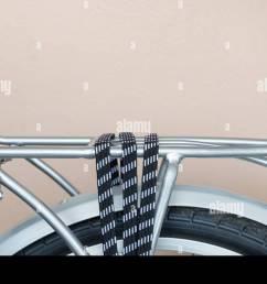 bicycle rack rope lock rear silver [ 1300 x 904 Pixel ]