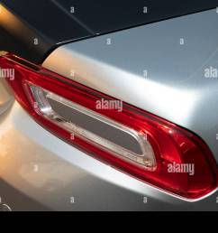 2018 fiat 124 abarth spider rear light stock image [ 1300 x 956 Pixel ]