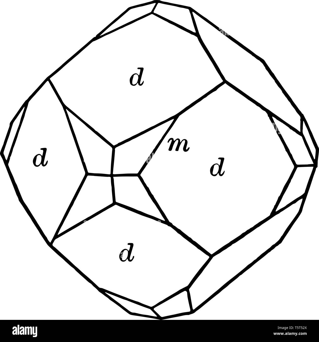 hight resolution of a diagram of dodecahedron and trapezohedron the dodecahedron is any polyhedron with twelve flat faces while the trapezohedron is a solid figure whos
