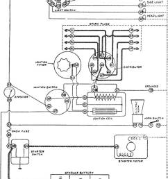 chassis wiring diagram for the gray davis starting and lighting installation on the peerless vintage line drawing or engraving illustration  [ 772 x 1390 Pixel ]