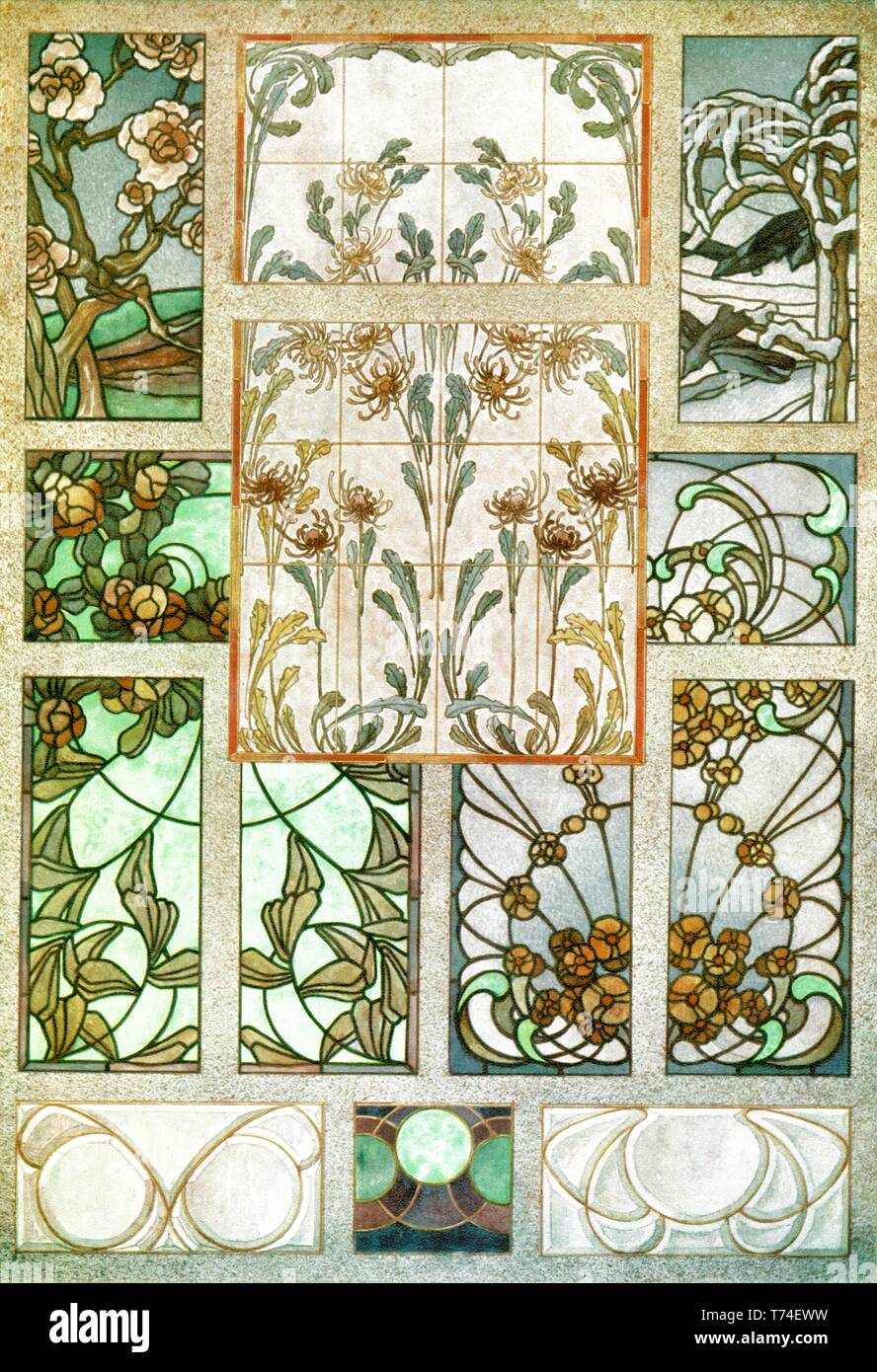 stained glass 10 patterns