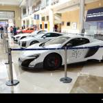Dubai Uae November 18 The Mclaren 675lt Audi R8 And Mercedes Benz Gt R Coupe Of Dubai Police Cars Are On Dubai Motor Show 2017 On November 18 20 Stock Photo Alamy