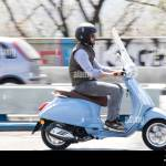 Blue Vespa High Resolution Stock Photography And Images Alamy