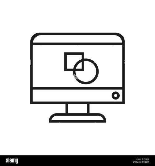 small resolution of icon design line graphic vector outline web creative thin art pencil logo illustration drawing linear sign
