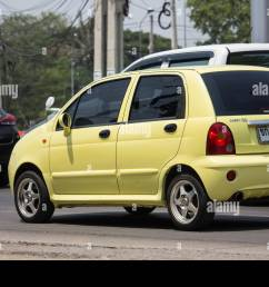 chiangmai thailand april 30 2019 private car chery qq on road no 1001 8 km from chiangmai city  [ 1300 x 956 Pixel ]