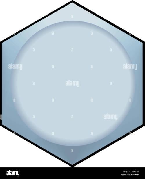 small resolution of hex bolt vector illustration