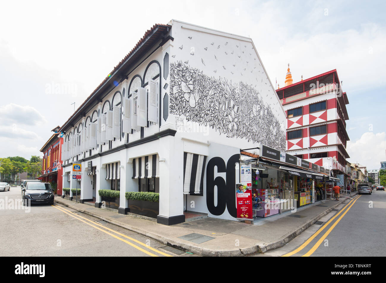 Architecture Of Park 22 Hotel At Little India Singapore