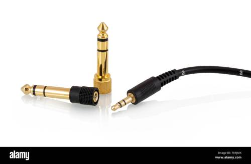 small resolution of 3 5mm 1 8 stereo headphone jack 3 pole mini stereo headphone plug or phone connector with two 6 35 mm 1 4 male to 3 5mm 1 8 female gold plated headph