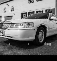 berlin april 27 2019 full size luxury car lincoln town car  [ 1300 x 957 Pixel ]