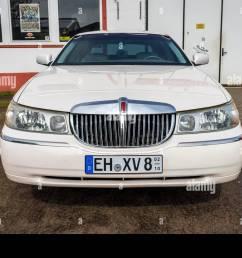 berlin april 27 2019 full size luxury car lincoln town car  [ 1300 x 956 Pixel ]