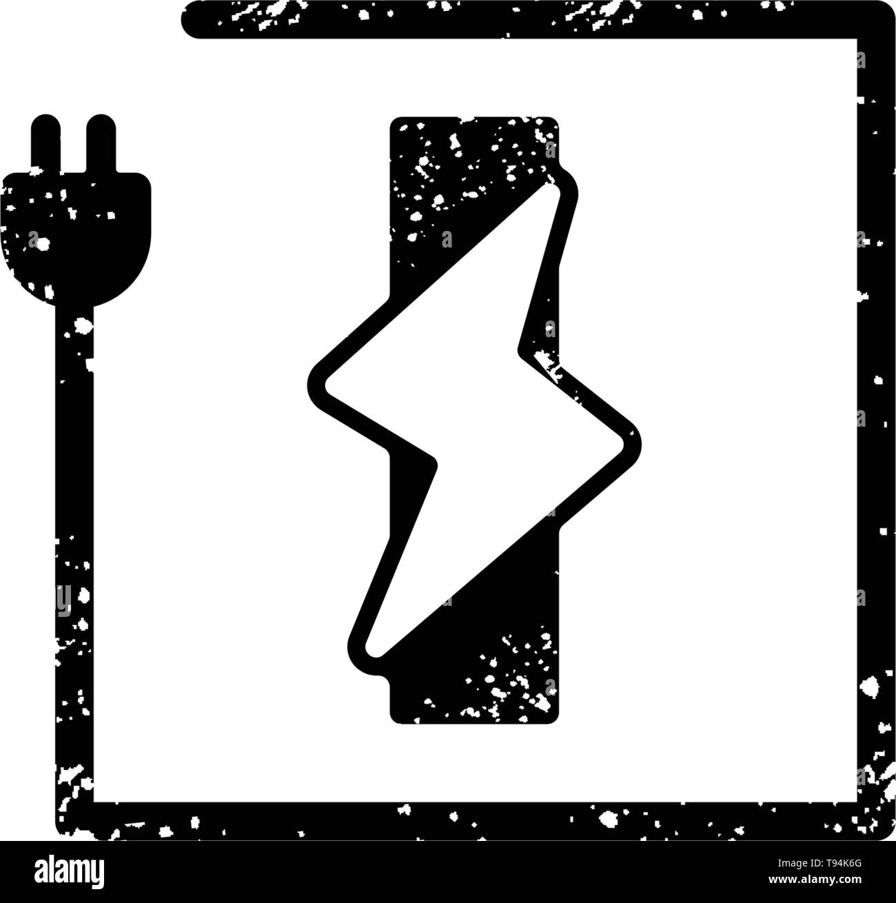 hight resolution of flash logo initial i symbol electrical vector icon element isolated vector stock image