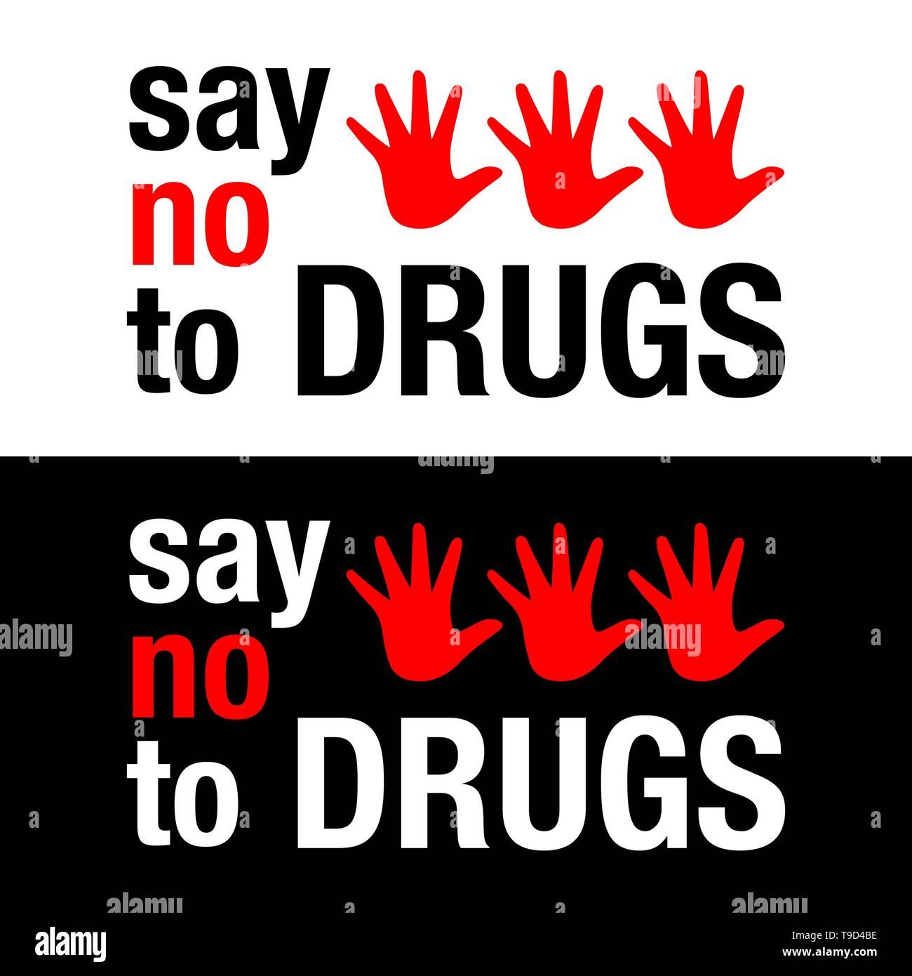 Just Say No To Drugs Worksheet