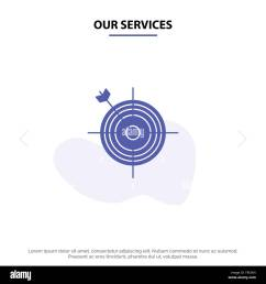 our services focus board dart arrow target solid glyph icon web card [ 1300 x 1390 Pixel ]