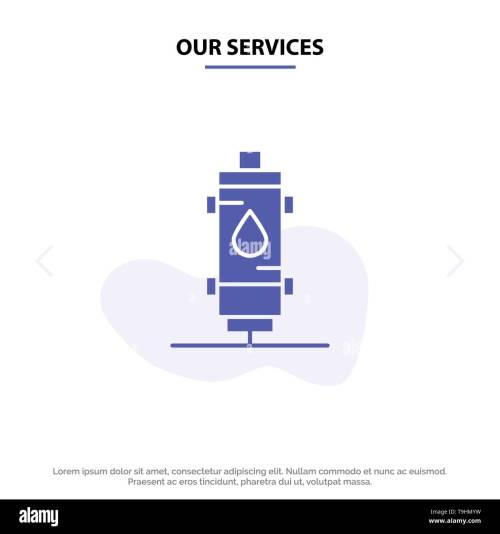 small resolution of our services heater water heat hot gas geyser solid glyph icon web card template
