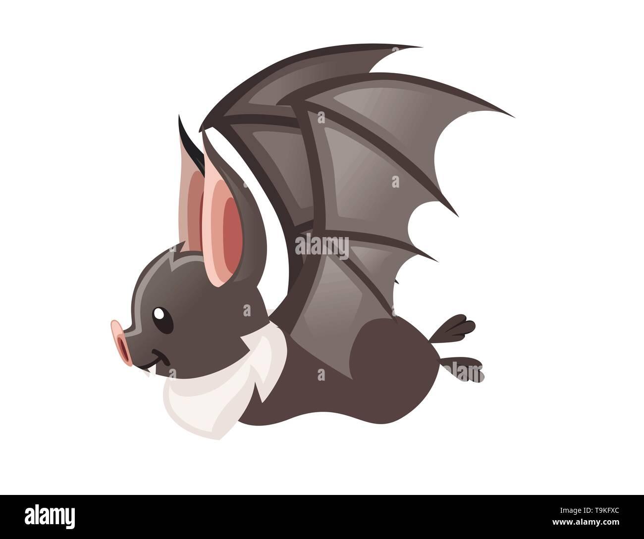 cartoon bat cute vampire
