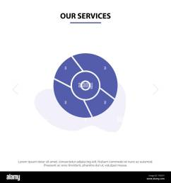 our services cd dvd disk device solid glyph icon web card template [ 1300 x 1390 Pixel ]