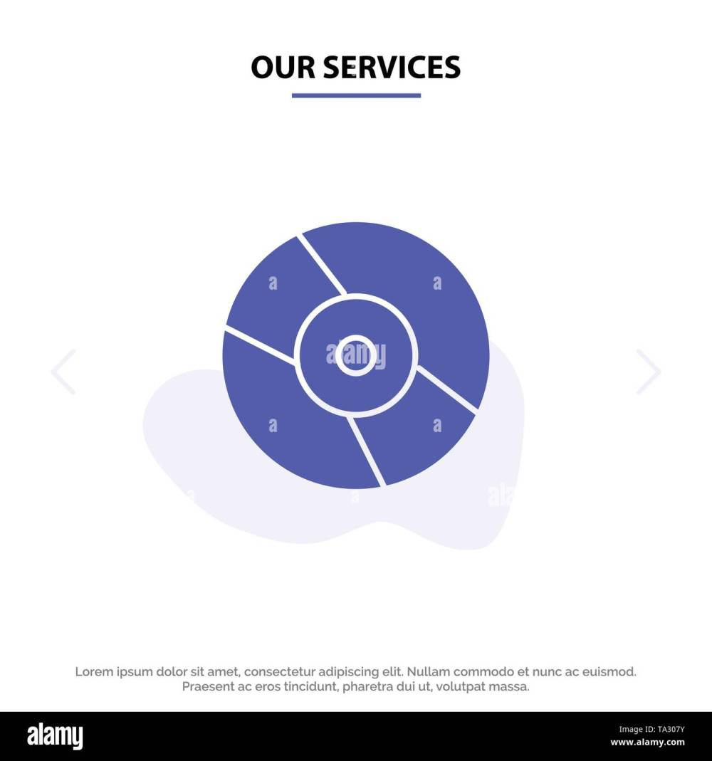 medium resolution of our services cd dvd disk device solid glyph icon web card template