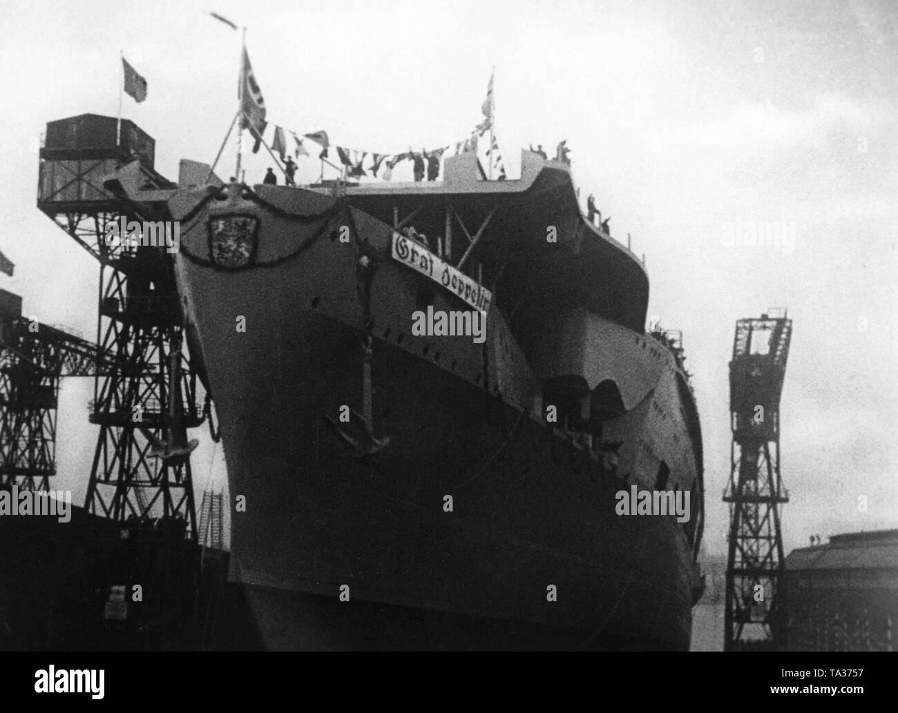 Schiffe Flugzeugtrager Graf Zeppelin Marine 1933 1939 Deutschland 1933 1945 Nationalsozialismus 01 01 1933 31 12 1939 German Navy Air Craft Carrier Graf Zeppelin 1933 1939 Germany 1933 1945 National Socialism 01 01 1933 31 12 1939