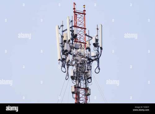 small resolution of 4g and 5g cell site base station or base transceiver station wireless communication antenna