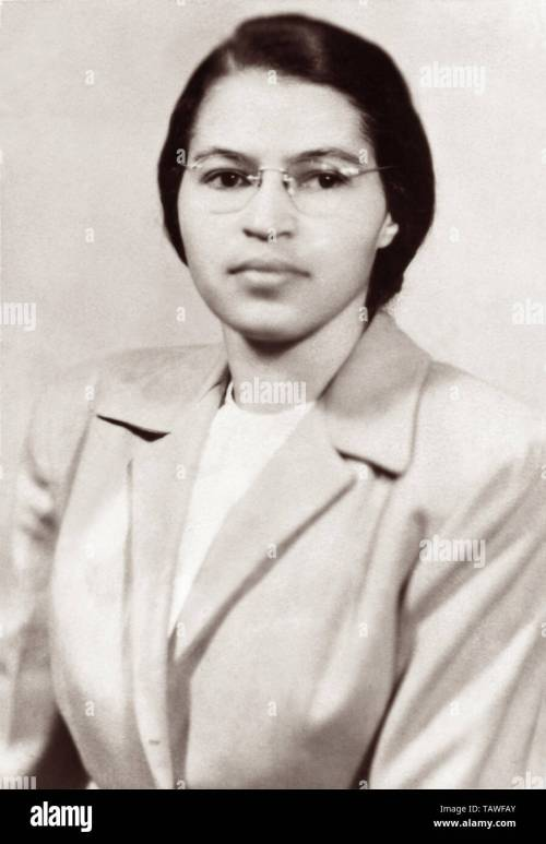 small resolution of rosa parks c1950 stock image