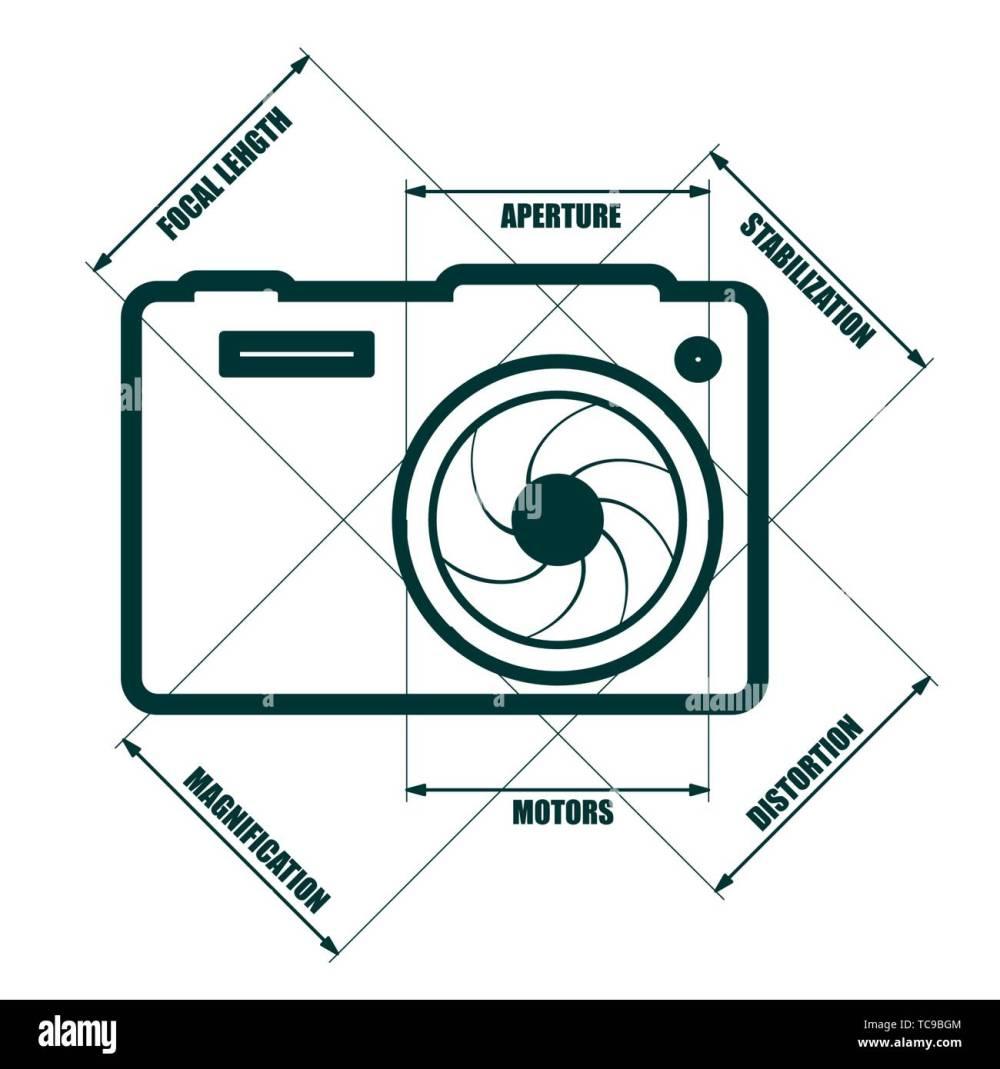 medium resolution of photo camera icon stock image