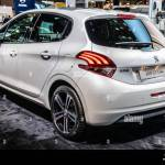 Paris France Oct 2018 White New Peugeot 208 Gt Line At Mondial Paris Motor Show 1st Gen Facelift Car Produced By Peugeot Stock Photo Alamy