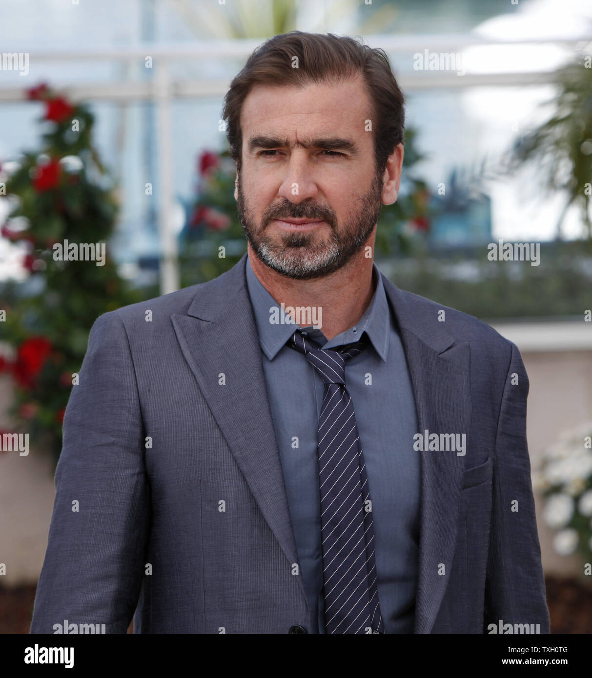 The family film will see former manchester united legend cantona playing 'eric', a former football star and now coach for a chinese league team,. Actor Eric Cantona Arrives At A Photocall For The Film Looking For Eric At The 62nd Annual Cannes Film Festival In Cannes France On May 18 2009 Upi Photo David Silpa Stock Photo