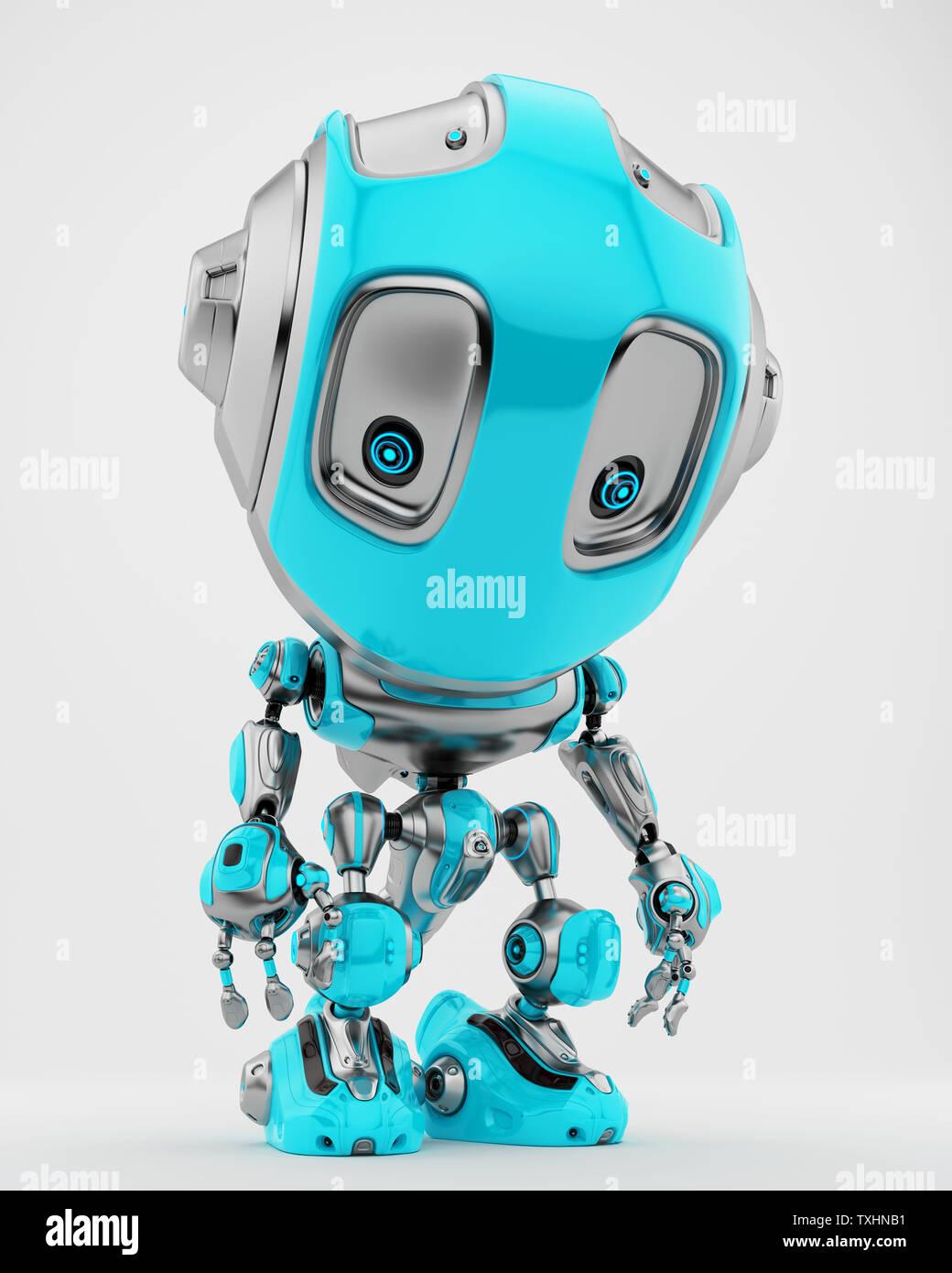 cute robotic toy 3d