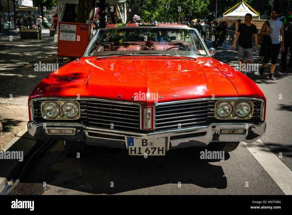 medium resolution of berlin june 09 2018 full size car buick lesabre convertible third