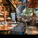 Huahin Thailand May 18 2019 Restaurant Modern Industrial Design With Dining Table And Ancient Collection At Air Space Stock Photo Alamy