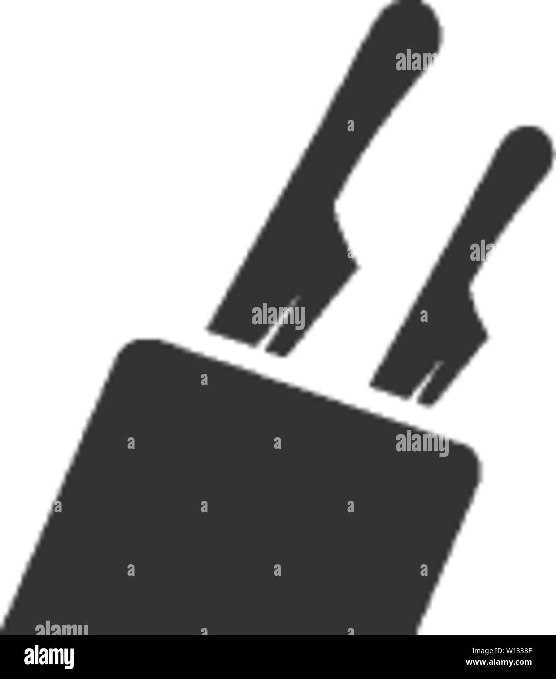 knife holder icon in