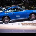 Geneva Mar 2019 Vintage Blue Porsche 911 2 0 Coupe 1965 Glossy Shiny Old Classic Retro Car Geneva International Motor Show Porsche Museum Stock Photo Alamy
