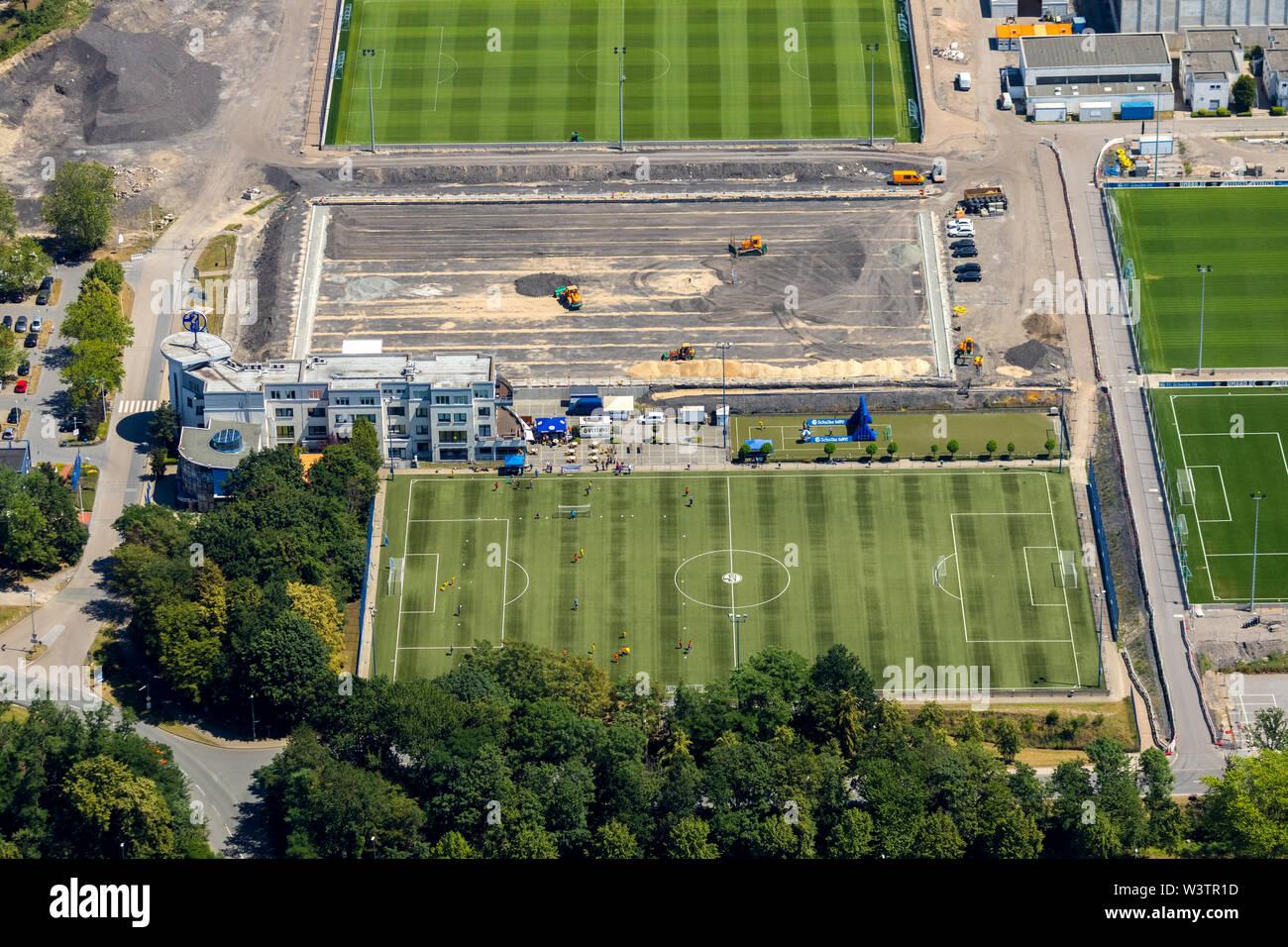 Aerial View Of The Arenapark Schalke Veltinsarena And