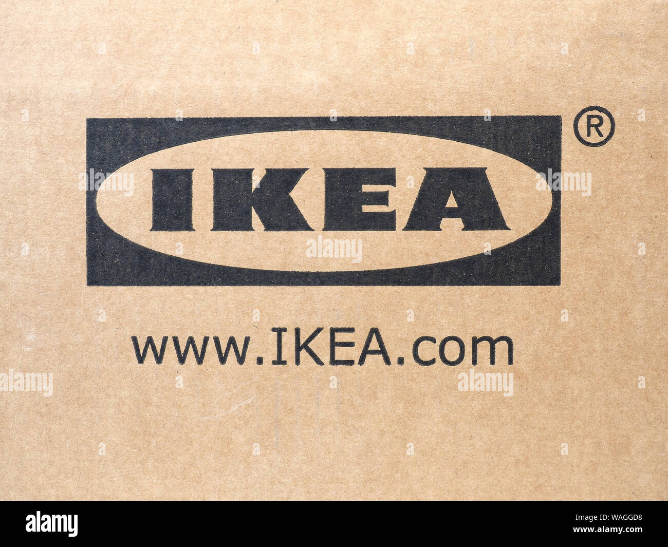 Stockholm Sweden Circa August 2019 Ikea Sign Stock Photo