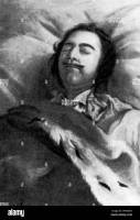 Grand Duke Peter III, (Peter the Great), on his death bed 1725. Grand Duke  Peter Fedorovich (1728-1762), became Peter III, Emperor of Russia, in 1762  Stock Photo - Alamy