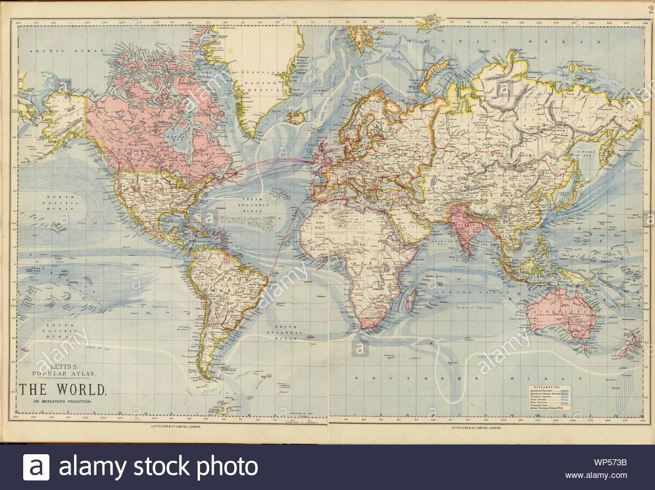 https www alamy com digital old world map printable download vintage world map printable map large world map high resolution world map poster image271793295 html