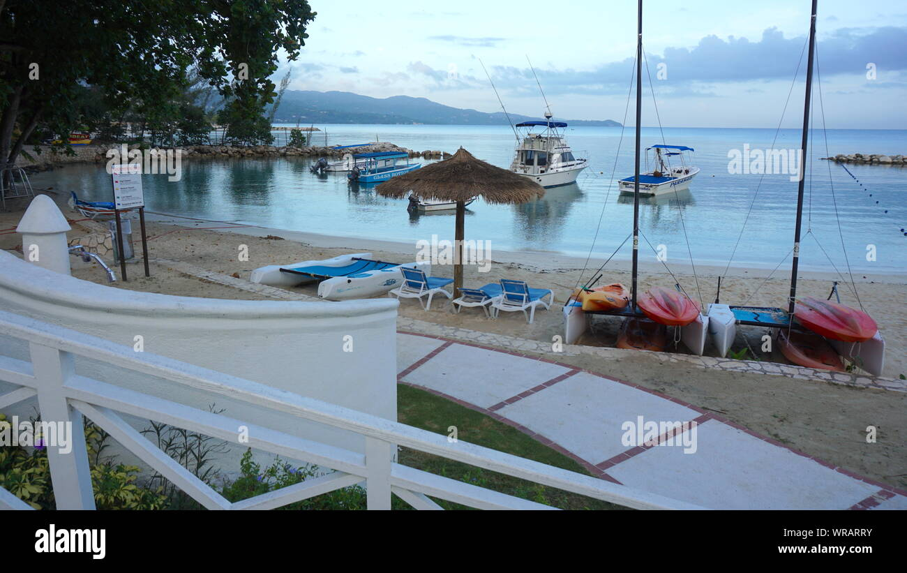 Sunscape Splash Resort In Montego Bay Jamaica Stock Photo